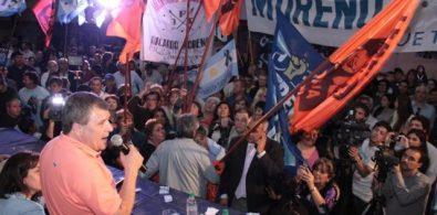 Francioni en el búnker del FPV.