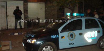 Procedimiento policial en la madrugada del sábado.