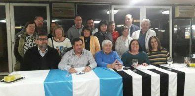 Nuevo consejo directivo. Foto: Prensa Sarmiento.